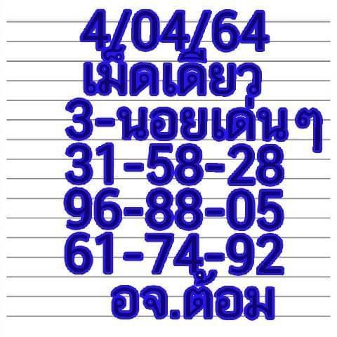 แนวทางหวยฮานอย4-4-64-huaysong6