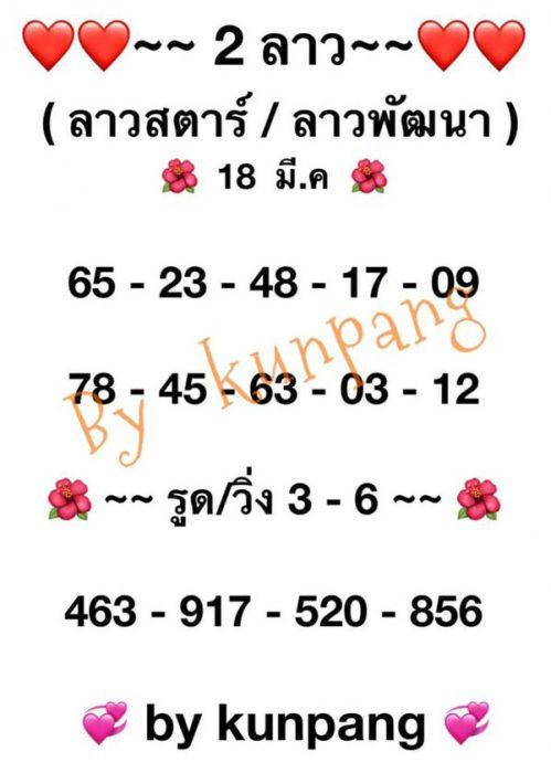 แนวทางหวยลาว18-3-64-huaysong6