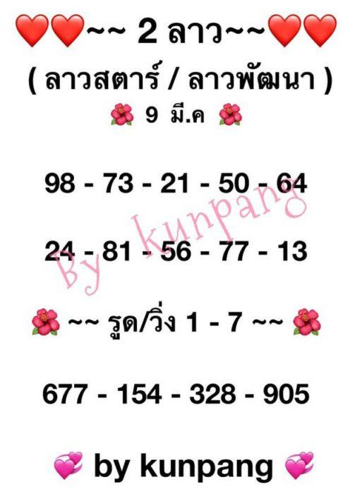 แนวทางหวยลาว9-3-64-huaysong13
